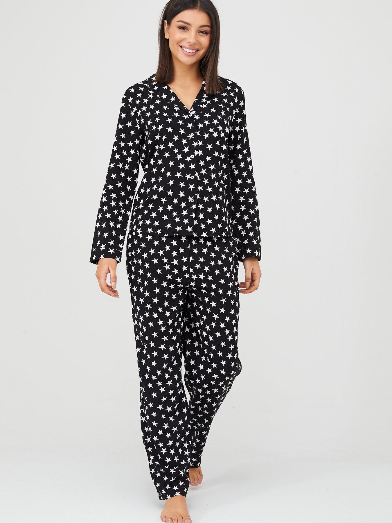 Ladies Character Pj/'s Full Length Vest Top Leggings Pyjama Set Lounge Wear Pants