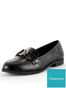 v-by-very-mandy-wide-fit-trim-loafer-black