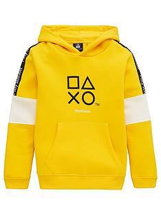 playstation-boys-playstation-hoodie-yellow