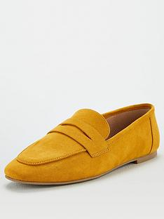 v-by-very-mya-square-toe-penny-loafer