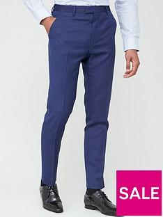 ted-baker-sterling-birdseye-trousers-blue