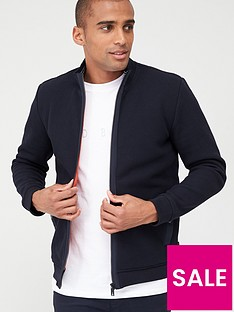 ted-baker-long-sleeved-knitted-padded-jacket-navy