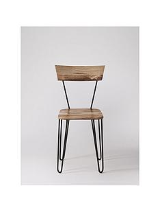 swoon-setnbspof-2nbspkyoto-dining-chairs-natural-mango-woodblack