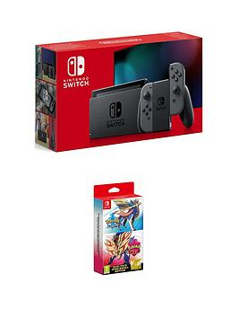 nintendo-switch-nintendo-switch-console-improved-battery-with-pokemon-sword-and-pokemon-shield
