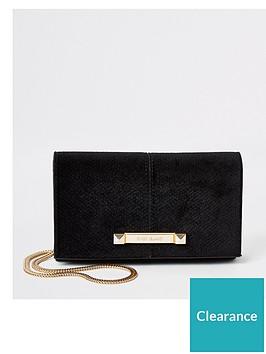 river-island-river-island-velvet-boxy-mini-cross-body-bag-black