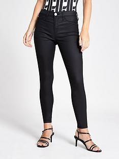 ri-petite-ri-petite-coated-mid-rise-molly-jeggings--black