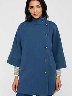monsoon-mona-military-cape-blue