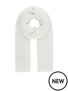 monsoon-petra-pleated-glitter-lightweight-scarf-ivory