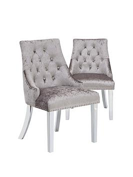 pair-of-warwick-crushed-velvet-dining-chairs