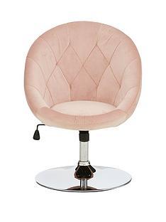 prod1089185880: Odyssey Velvet Leisure Chair - Pink
