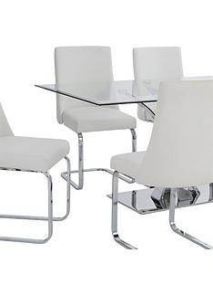 alice-rectangle-dining-table-6-faux-leather-chairs-clearwhite