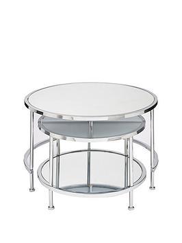 michelle-keegan-home-aruba-mirrored-nested-coffee-tables