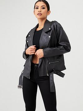 in-the-style-in-the-style-x-stephsa-oversized-faux-leather-jacket-black