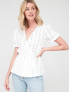 v-by-very-wrap-button-embroidered-top-whitenbsp