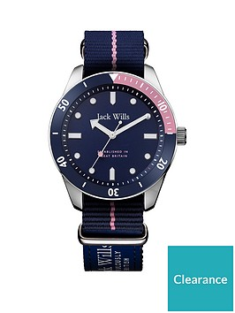 jack-wills-jack-wills-blue-and-pink-detail-dial-blue-nato-strap-ladies-watch