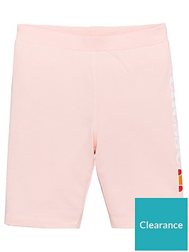 ellesse-older-girls-suzina-cycling-shorts-pink