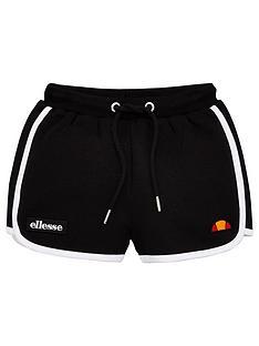ellesse-younger-girls-victena-shorts-black