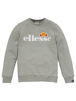 ellesse-older-girls-siobhen-crew-neck-sweatshirt-grey