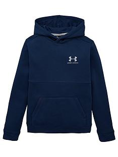 under-armour-cotton-fleece-hoodie-navy