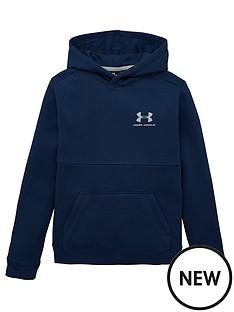 under-armour-cotton-fleece-hoodie-navy