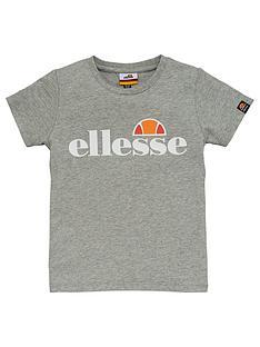 ellesse-younger-boys-malia-short-sleeves-t-shirt-grey
