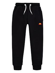 ellesse-younger-boys-colino-joggers-black