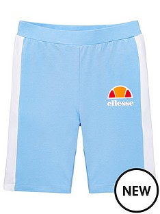 ellesse-older-girls-telivo-cycling-shorts-light-blue