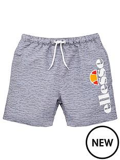 ellesse-older-boys-bervios-swim-shorts-grey-marl