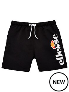 ellesse-older-boys-bervios-swim-shorts-black