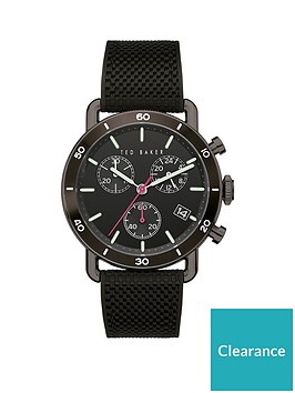 ted-baker-ted-baker-black-and-pink-detail-chronograph-dial-black-silicone-strap-watch