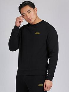 barbour-international-essential-sweatshirt-black