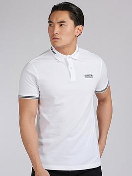 barbour-international-essential-tipped-polo-shirt-white