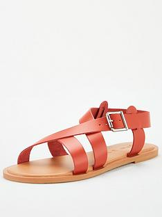 v-by-very-humbug-leather-strappy-sandals-rust