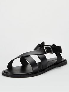 v-by-very-humbug-leather-strappy-sandals-black
