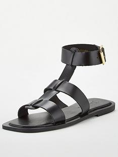v-by-very-heron-leather-wide-fit-square-toe-gladiator-sandals-black