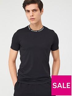 armani-exchange-collar-t-shirt-black
