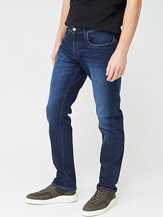 armani-exchange-j13-slim-fit-dark-wash-jeans-navy