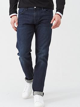 armani-exchange-j16-straight-fit-dark-wash-jeans-indigo