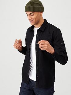 barbour-international-contact-overshirt-black