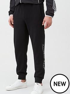 armani-exchange-logo-tape-joggers-black
