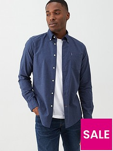 barbour-aviemore-brushed-shirt-blue