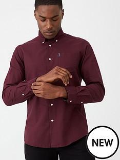 barbour-aviemore-shirt-merlot