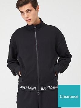 armani-exchange-taping-logo-zip-through-sweat-black