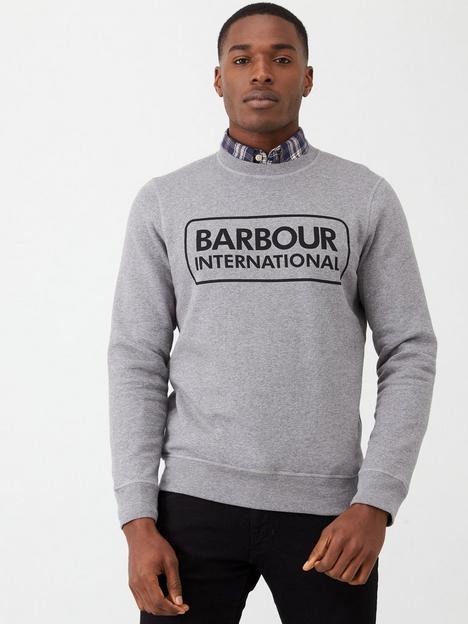 barbour-international-large-logo-sweatshirt-grey-marl