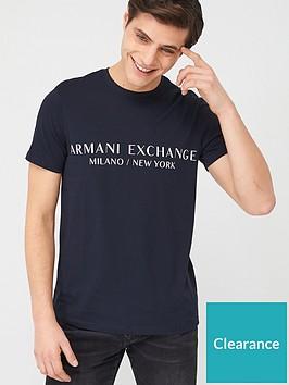 armani-exchange-milano-logo-t-shirt-navy