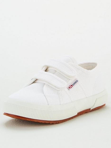 superga-girls-2750-cotj-strap-classic-plimsoll-pumps-white