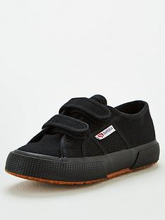 superga-boys-2750-cotj-strap-classic-plimsoll-pumps-black