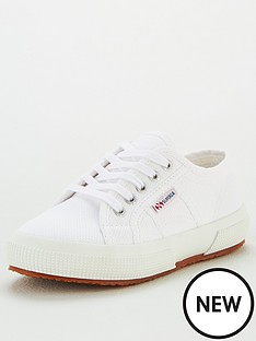 superga-girls-2750-jcot-classic-lace-up-plimsoll-pumps-white