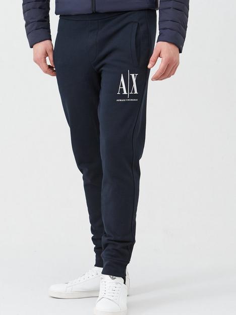 armani-exchange-icon-ax-logo-joggers-navy