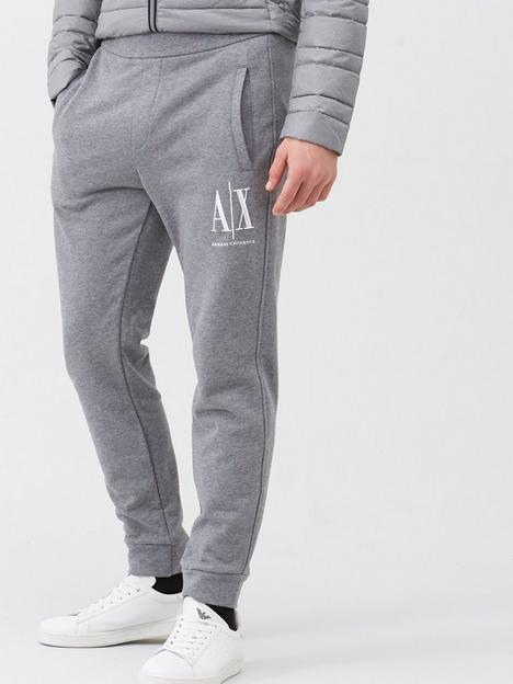 armani-exchange-icon-ax-logo-joggers-grey-marl